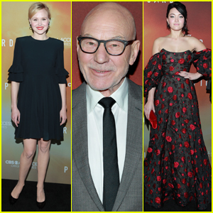 Patrick Stewart Joins Co-Stars at 'Star Trek: Picard' Premiere!