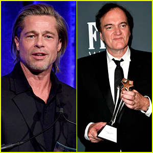 Brad Pitt Wins at Critics' Choice Awards 2020, Quentin Tarantino Accepts on His Behalf