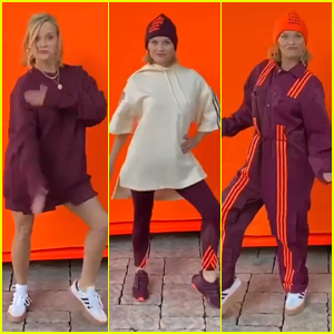 Reese Witherspoon Models & Dances In Beyonce's Ivy Park Collection After Being Gifted The Entire Line!