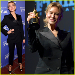 Renee Zellweger Gets Honored with American Riviera Award at Santa Barbara Film Fest!