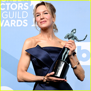 Renee Zellweger Accepts Award for Best Female Actor at SAG Awards 2020 (Video)