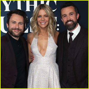 Rob McElhenney is Supported by Kaitlin Olson & Charlie Day at 'Mythic Quest' Premiere!