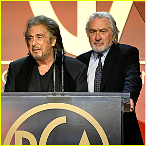 Robert De Niro & Al Pacino Present Together at Producers Guild Awards 2020