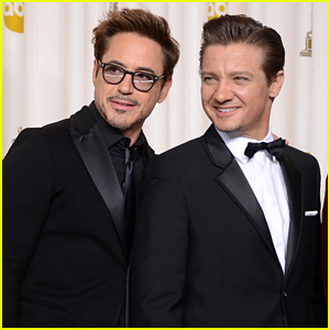 Robert Downey Jr. Helped Jeremy Renner Celebrate His Birthday!