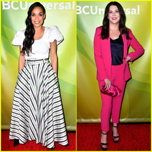 Rosario Dawson, Lauren Graham & More Attend NBC Press Tour 2020!
