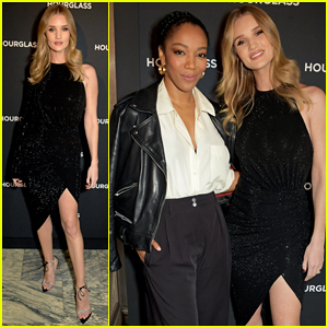 Rosie Huntington-Whiteley Celebrates Launch of Vanish Airbrush Concealer with Hourglass!