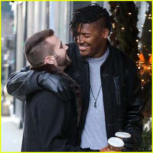 Ryan Russell & Boyfriend Corey O'Brien Show PDA on Coffee & Chocolate Date