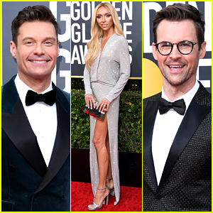 Ryan Seacrest, Giuliana Rancic, & More TV Hosts Kick Off Golden Globes 2020 Red Carpet!