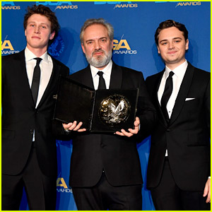 Sam Mendes Wins Best Director at DGA Awards 2020, '1917' Stars Step Out to Support Him