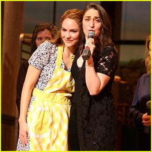 Sara Bareilles & Katharine McPhee Close Up the Diner at 'Waitress' Final Performance