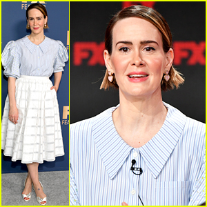 Sarah Paulson Talks 'Impeachment' Series & Why She Won't Share Her Personal Opinions