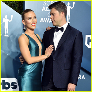 Scarlett Johansson & Colin Jost Couple Up at SAG Awards 2020