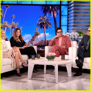 The Cast of 'Schitt's Creek' Takes Over 'Ellen' for the Day (Video)