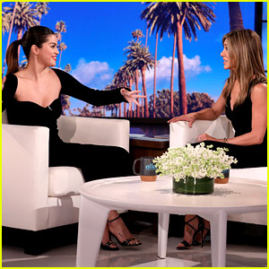 Selena Gomez Gushes Over Jennifer Aniston While Being Interviewed By Her on 'Ellen'