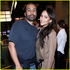Shay Mitchell Is Joined by Partner Matte Babel at Event Celebrating Streaming TV