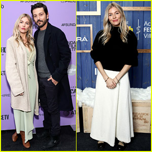 Sienna Miller's Big Ring Is on Display at Sundance 2020!