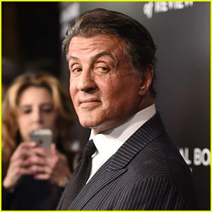 Sylvester Stallone Debuts Natural Gray Hair
