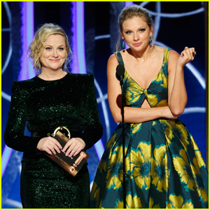 Here's Why Taylor Swift Presenting with Amy Poehler at Golden Globes 2020 Was So Significant