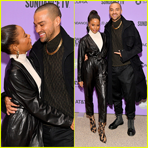 Jesse Williams Supports Girlfriend Taylour Paige at 'Zola' Premiere at Sundance Film Festival 2020
