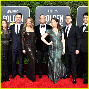 Tom Hanks Brings His Entire Family To Golden Globes 2020
