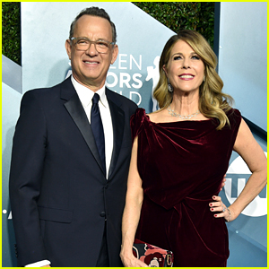 Tom Hanks & Rita Wilson Couple Up For SAG Awards 2020