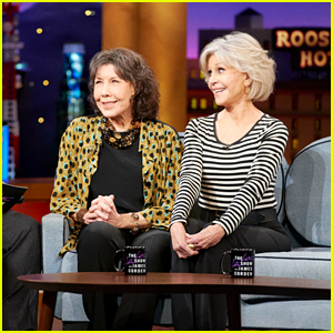 Lily Tomlin Opens Up About Officiating Kathy Griffin's Wedding - Watch! (Video)