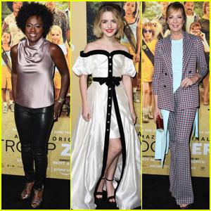 Viola Davis, McKenna Grace, & Allison Janney Step Out for 'Troop Zero' Premiere!