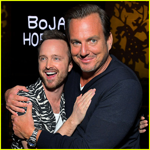 Will Arnett & Aaron Paul Hug It Out at 'BoJack Horseman' Finale Event
