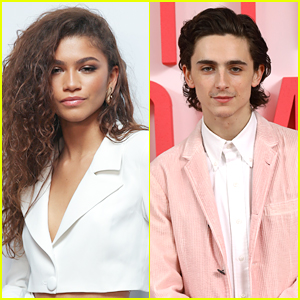 Timothee Chalamet & Zendaya Shop at Bed Bath & Beyond Together in NYC
