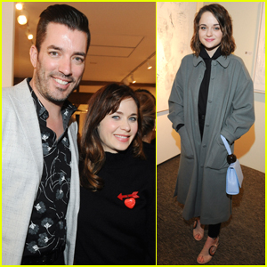Zooey Deschanel, Jonathan Scott & More Stars Support Darren Le Gallo's Art Exhibit Opening!