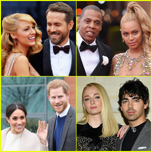 America's 16 Most Popular Celebrity Couples Revealed