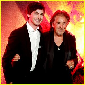 Al Pacino Joins Logan Lerman, Josh Radnor & More at 'Hunters' Premiere in LA