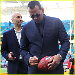 Alex Rodriguez Checks Out Hard Rock Stadium Ahead of Super Bowl 2020