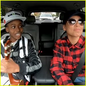 Alicia Keys Goes Undercover to Surprise Lyft Riders! (Video)