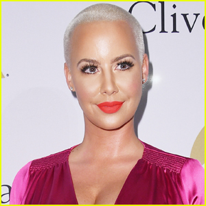 Amber Rose Seemingly Gets Forehead Tattoo of Her Kids' Names
