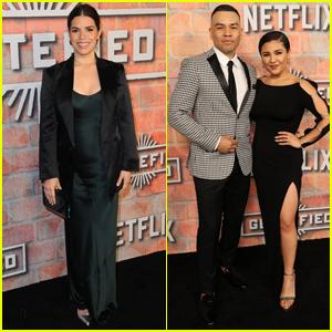 America Ferrera Premieres New Netflix Show 'Gentefied' in L.A.