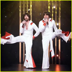 Andy Samberg & Jimmy Fallon Go '70s for Funky 'High Kickin' Parody - Watch Here!