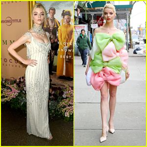 Anya Taylor-Joy's 'EMMA' Premiere Dress Is Just as Stunning as Her Giant Bow Dress - See Both Looks Here!