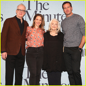 Armie Hammer Joins 'The Minutes' Cast at Broadway Photo Call!