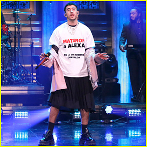 Bad Bunny Honors Murdered Puerto Rican Trans Latina While Performing on 'Fallon'! (Video)