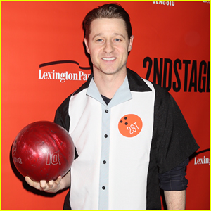 Ben McKenzie Went Bowling for Charity & Even Wore the Cute Uniform!