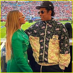 Beyonce & Jay-Z Attend Super Bowl 2020, Stay Seated During National Anthem