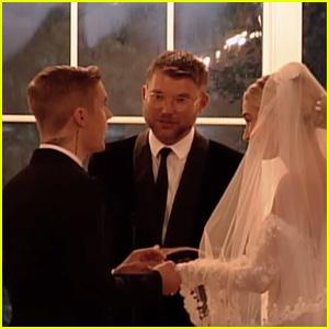 Justin & Hailey Bieber Exchange Their Wedding Vows in Never-Before-Seen Footage - Watch! (Video)