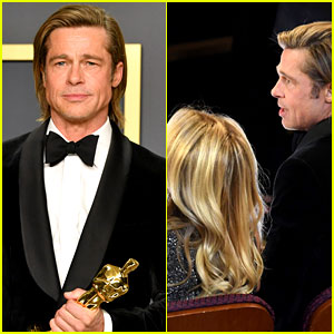 Brad Pitt's Oscars 2020 Date Revealed (And It's Not His Mom!)