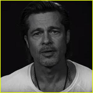 Brad Pitt Has an Urgent Message Ahead of the U.S. Election - Watch! (Video)