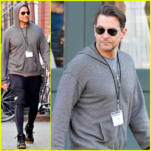 Bradley Cooper Gets His Work Out On Ahead Of 'Nightmare Alley' Remake Filming!