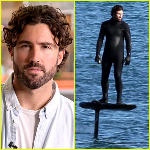 Brody Jenner Surfed Above the Water & The Pics Are So Cool!