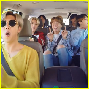 Cardi B Reacts To BTS Singing 'Finesse' on Carpool Karaoke With James Corden