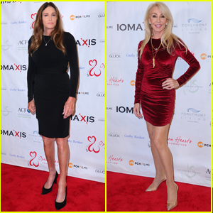 Caitlyn Jenner & Ex-Wife Linda Thompson Hang Out at Open Hearts Foundation Gala 2020
