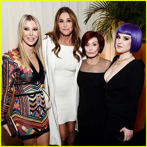 Caitlyn Jenner Joins the Osbournes at Elton John's Oscars Party!
